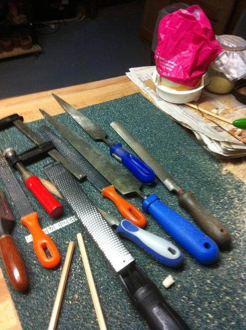 Werkzeuge zur Halsbearbeitung